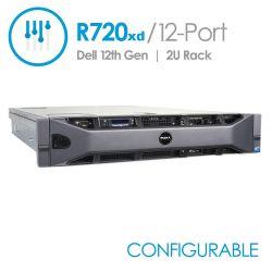 Dell PowerEdge R720xd 12-Port 3.5