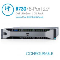 Dell PowerEdge R730 8-Port 2.5
