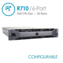 PowerEdge R710 Gen II 6-Port (Configurable)