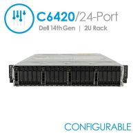 Dell PowerEdge C6420 24-Port, 4x C6420 Nodes with 1 Year STI Warranty (Configurable)