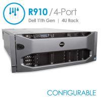 Dell PowerEdge R910 4-Port (Configurable)