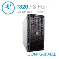 Dell PowerEdge T320 8-Port Desktop Tower Server with Fixed Power Supply (Configurable)