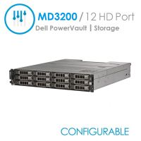 Dell PowerVault MD3200 Chassis 12-Port (Configurable)