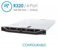 Dell PowerEdge R320 4-Port Rack Mount Server (Configurable)