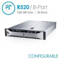 Dell PowerEdge R520 8-Port 3.5