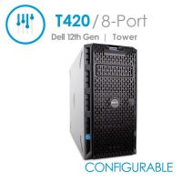 Dell PowerEdge T420 8-Port Desktop Tower Server (Configurable)