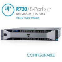 Dell PowerEdge R730 8-Port 3.5