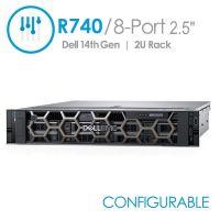 Dell PowerEdge R740 8-Port 2.5