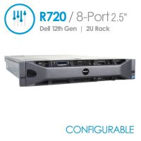 Dell PowerEdge R720 8-Port 2.5