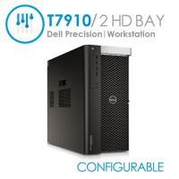Dell Precision T7910 Tower Workstation 2x CPU 16x DIMMS (Configurable)