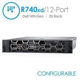 Dell PowerEdge R740xd 12-Port 3 5