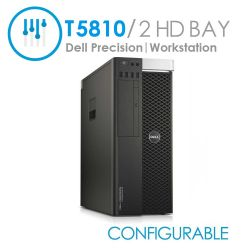 Dell Precision T5810 Tower Workstation 1x CPU 8x DIMMS (Configurable)