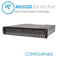 Dell PowerVault MD3220i Chassis w/Dual Raid Controllers (Configurable)