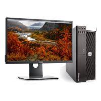 Dell Precision T3600 - Six-Core 2.5GHz/ 16GB/ 1x 1TB SAS w/Dell 22 inch Monitor and Keyboard